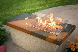 Glass Firepits Outdoor Great Room Pits