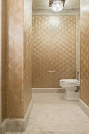 Powder Room Flooring Powder Room In A Fan Pattern Straw Marquetry