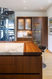 contemporary kitchen design downsview cabinetry butcher block