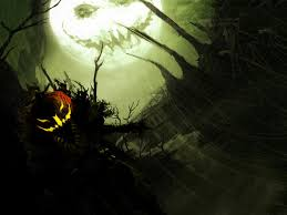 scary halloween desktop wallpaper wallpapersafari