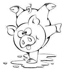 cute pig coloring pages toddlers kids coloring pages