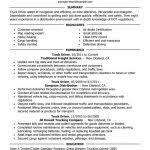 Sample Resume For Truck Driver by Truck Driving Resume Resume Template 2017