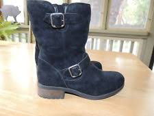 ugg womens amely shoes black ugg australia s black suede amely fringed ankle boot size
