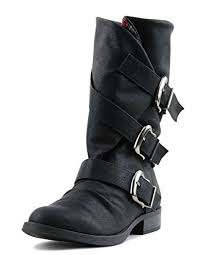 s boots buckle amazon com norris s faux nubuck leather three side buckle
