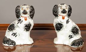 antiques atlas pair staffordshire dogs