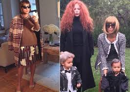 front row 9 fashion people to dress up as this halloween