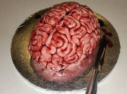 Halloween Brain Cake carrie sherreard csherreard twitter