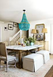 turquoise beaded chandelier turquoise beaded orb chandelier dining table contemporary