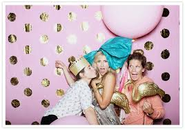 Wedding Photo Booth Ideas Pink And Gold California Wedding Taylor Joey Real Weddings