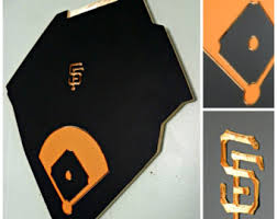 sf giants baseball birthday card for him