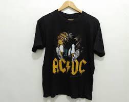 Baju Ac Dc vintage acdc etsy
