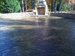 Stamped Concrete Patio Prices by Stamped Concrete Vs Pavers Stamped Concrete Patio Cost Stamped