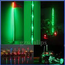led light whip for atv 2018 led light whips feet led lighted whip for atv utv green light