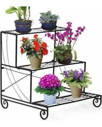 deal alert metal plant stand garden decorative patio flower pot
