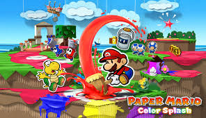 colors splash activities paper mario color splash for wii u stencils