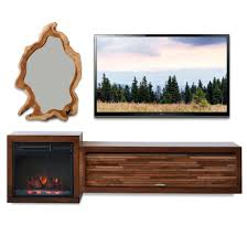 fake fireplace tv stand big lots costco canada electric console