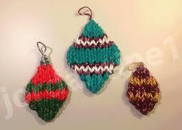 how to make a rainbow loom shaped ornament charm
