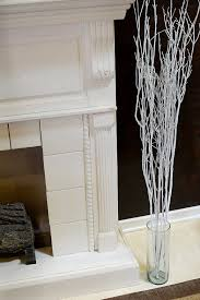 tree branch decor best white tree branches decorative