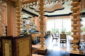 luxury italian restaurant interior design of sinatra las vegas
