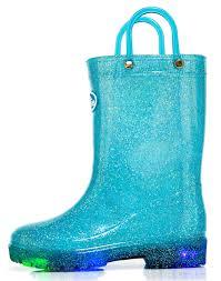 light up rain boots outee kids light up rain boots waterproof lightweight