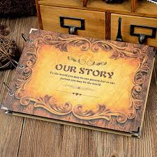 Handmade Photo Albums 2 Kinds Our Story 10 Inch Diy Handmade Photo Album Baby Wedding