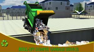 city garbage truck simulator android apps on google play