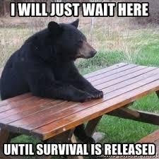 Bench Meme - bear bench meme generator