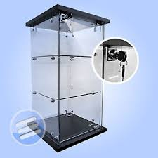 lockable glass display cabinet showcase quality lockable counter top countertop retail glass display cabinet