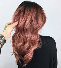 rose gold hair color 21 fabulous rose gold hair color 2017 on haircuts