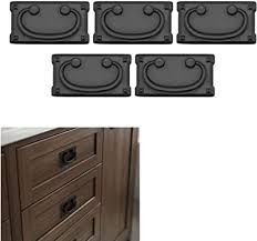 is black hardware in style 5 pack matte flat black cabinet hardware mission style