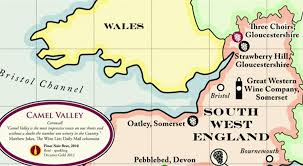 Somerset England Map A Map Of English War