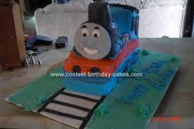coolest homemade thomas and friends scene cakes