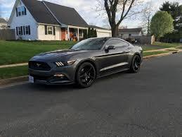 Black 5 0 Mustang Forgestar Mustang Cf5 Monoblock Piano Black Wheel 19x9 5 384165