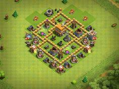 coc village layout level 5 layouts hall gaming and video games