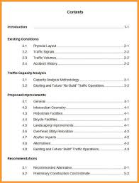 apa format table of contents letter format mail