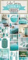 color series decorating with turquoise aqua blue blue green