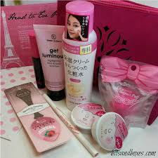 beauty sle box programs beauteque to toe pink february 2015 bag bits and boxes