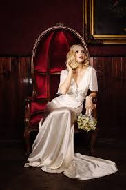 glamorous old hollywood inspired bridal fashion from cathleen jia