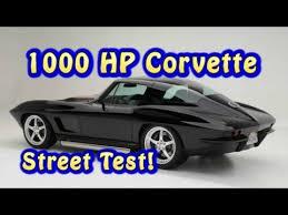 1000 hp corvette 1000 hp corvette test from nelson racing engines