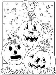 free coloring pages of halloween coloring pages halloween