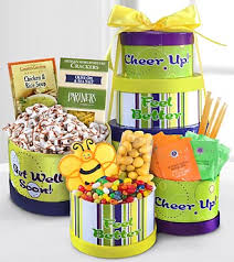 get well soon gift ideas baskets gourmet wrappedflowers featuring competitive prices