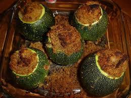 cuisiner courgette ronde recette de courgettes rondes farcies la recette facile