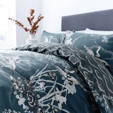 living by christiane lemieux hiroto print bed linen range house