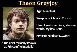 Meme Trading Cards - game of thrones trading cards theon greyjoy asoiaf got memes