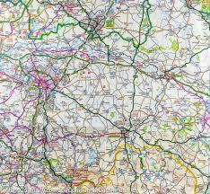 Lake District England Map by Map Of Peak District U0026 Derbyshire England Ordnance Survey