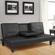 Sleeper Sofa Cheap by Furniture Wayfair Sleeper Sofa Black Faux Leather Futon Faux