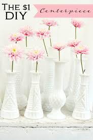 Milk Vases For Centerpieces by The 1 Diy Wedding Centerpiece