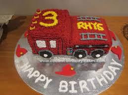 coolest fire engine 3rd birthday cake fireman sam fire engine