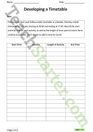 daily timetable editable mini nursery foundation stage 1 visual