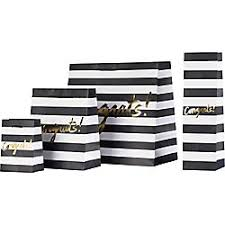 black and white striped gift bags cheap black and white gift bags gift ftempo